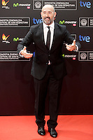 "Actor Javier Camara posses in the photocall of the ""Vivir es facil con los ojos cerrados"" film presentation during the 61 San Sebastian Film Festival, in San Sebastian, Spain. September 24, 2013. (ALTERPHOTOS/Victor Blanco) /Nortephoto"