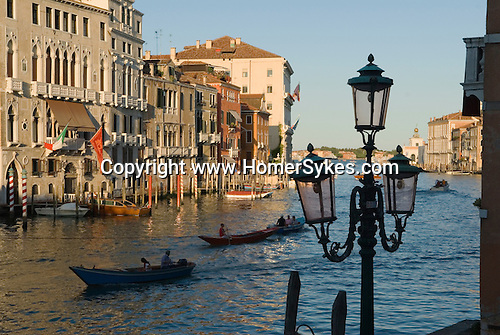 Grand Canal, Venice Italy 2009.