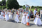 Corpus Christi procession in Ballapousta. Photo: Colin Bell/pressphotos.ie