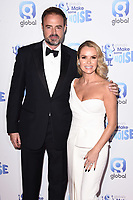 Jamie Theakston and Amanda Holden<br /> arriving for the Make Some Noise Night 2019, London.<br /> <br /> ©Ash Knotek  D3540 25/11/2019