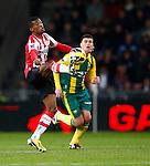 Nederland, Eindhoven, 2 februari 2013.Eredivisie.Seizoen 2012-2013.PSV-ADO Den Haag (7-0).Georginio Wijnaldum van PSV in actie met bal