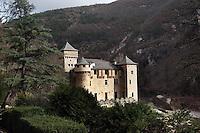 Chateau de la Caze at Lozer in France