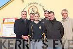 Austin Stacks GAA club have launched a major fund-raising drive to fund the purchase and development of their home grounds. .Front L-R Mickey Sheehy, Laura Rogers and Timmy McMahon .Back L-R Tony O'Keeffe, Wayne Quillinan and Aidan O'Connor