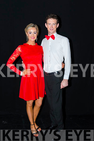 Rathmore Strictly Come Dance 'Judges' Winners Aoife O'Sullivan and James O'Halloran pictured in the INEC, Killarney last Thursday night.