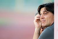 Vincenzo Montella of Ac Fiorentina<br /> Livorno 04/08/19 Stadio Armando Picchi <br /> Football friendly match pre season 2019/2020 Livorno - Fiorentina <br /> Foto Andrea Masini / Insidefoto