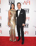 Camilla Alves and Matthew McConaughey at TV Land's 2011 AFI Lifetime AChievement Award Honoring Morgan Freeman held at Sony Picture Studios in Culver City, California on June 09,2011                                                                               © 2011 Hollywood Press Agency