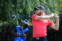 Sebastian Soderberg (SWE) during the third round of the Kazakhstan Open presented by ERG played at Zhailjau Golf Resort, Almaty, Kazakhstan. 15/09/2018<br /> Picture: Golffile | Phil Inglis<br /> <br /> All photo usage must carry mandatory copyright credit (&copy; Golffile | Phil Inglis)