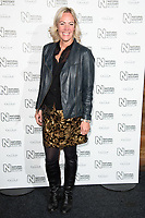 Jo Pickard arriving for the Natural History Museum Ice Rink launch party 2017, London, UK. <br /> 25 October  2017<br /> Picture: Steve Vas/Featureflash/SilverHub 0208 004 5359 sales@silverhubmedia.com