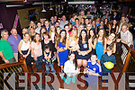 Deirdre Laffan, Racecourse Lawn Tralee, celebrates a birthday with family and friends at the Night Jar on Saturday