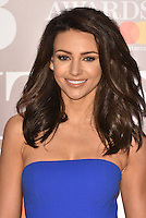 Michelle Keegan <br /> The Brit Awards at the o2 Arena, Greenwich, London, England on February 22, 2017.<br /> CAP/PL<br /> &copy;Phil Loftus/Capital Pictures /MediaPunch ***NORTH AND SOUTH AMERICAS ONLY***
