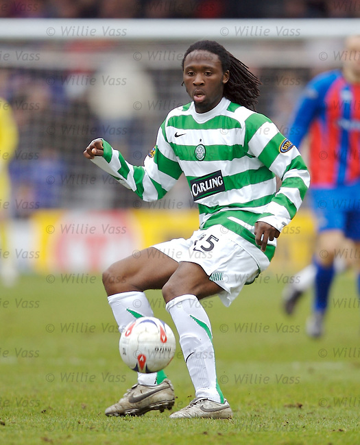 Evander Sno, Celtic.stock season 2006-2007.pic willie vass