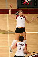 10 November 2005:  Lizzy Suiter during Stanford's 3-0 win over Arizona State at Maples Pavilion in Stanford, CA.