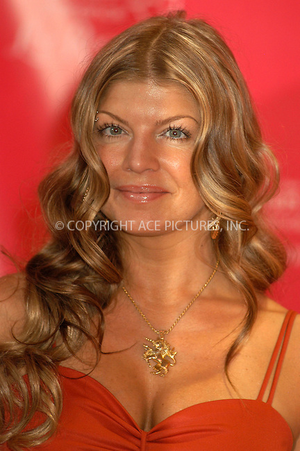 WWW.ACEPIXS.COM . . . . . ....NEW YORK, APRIL 20, 2005....Fergie of The Black Eyed Peas hosts Gillette's launch of their new line 'The Venus Vibrance Razor' at Times Square... ..Please byline: KRISTIN CALLAHAN - ACE PICTURES.. . . . . . ..Ace Pictures, Inc:  ..Craig Ashby (212) 243-8787..e-mail: picturedesk@acepixs.com..web: http://www.acepixs.com