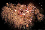 Fireworks, Independence Day 2010, Port of Spain