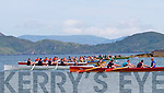 Action from the start of the U16 race at the Ballinskelligs regatta on Sunday.