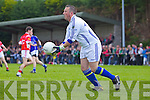 Tony Lyons Laune Rangers v East Kerry in the first round of the Garveys Supervalu Kerry county football championship at Beaufort on Saturday evening.
