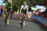 Nenjamin King (USA) Team Dimension Data and Hector Saez Benito (ESP) Euskadi-Murias approach the finish line at the end of Stage 19 of the La Vuelta 2018, running 154.4km from Lleida to Andorra, Naturlandia, Andorra. 14th September 2018.                   <br /> Picture: Colin Flockton | Cyclefile<br /> <br /> <br /> All photos usage must carry mandatory copyright credit (© Cyclefile | Colin Flockton)