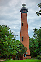 Outer Banks, NC<br /> Currituck Beach Lighthouse (1875) near Corolla, NC