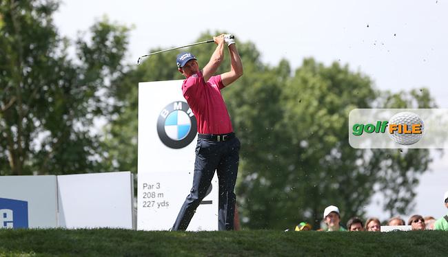 Henrik Stenson (SWE) makes 8 birdies for 67 during Round One of the 2015 BMW International Open at Golfclub Munchen Eichenried, Eichenried, Munich, Germany. 25/06/2015. Picture David Lloyd | www.golffile.ie