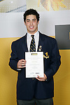 Weightlifting Boys Winner - Simon Heeney. ASB College Sport Young Sportsperson of the Year Awards 2006, held at Eden Park on Thursday 16th of November 2006.<br />