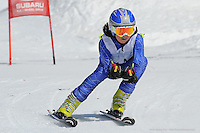 PERISHER VALLEY, AUSTRALIA, 13 September 2008 - Mia Low competing at the Australian Interschools Snowsports Championships held at Perisher Valley, NSW on 13 September 2008. Photo by Sydney Low / AsteriskImages.com