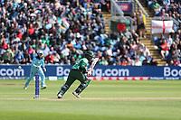 Tamim Iqbal (Bangladesh) flicks to the leg side for a single during England vs Bangladesh, ICC World Cup Cricket at Sophia Gardens Cardiff on 8th June 2019