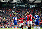 Spider Cam watches the action during the English Premier League match at Old Trafford Stadium, Manchester. Picture date: April 16th 2017. Pic credit should read: Simon Bellis/Sportimage
