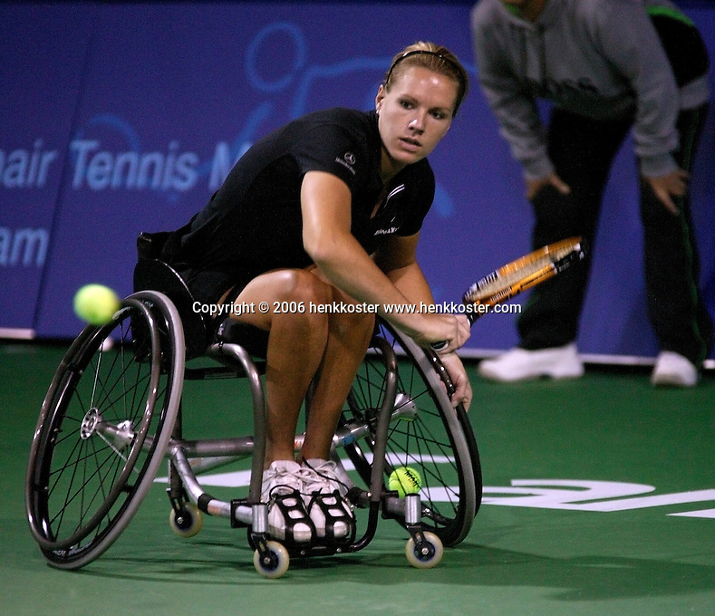 19-11-06,Amsterdam, Tennis, Wheelchair Masters, Esther Vergeer