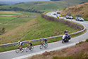06/09/16<br /> <br /> The day's leading riders make their way up the category one climb on the A537 towards the Cat and Fiddle, over the Cheshire Peak district on the third day of the Tour of Britain.<br />  <br /> All Rights Reserved, F Stop Press Ltd. +44 (0)1773 550665