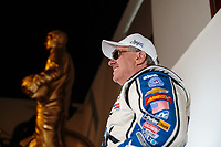 Feb 6, 2019; Pomona, CA, USA; NHRA funny car drivers John Force poses for a portrait during NHRA Media Day at the NHRA Museum. Mandatory Credit: Mark J. Rebilas-USA TODAY Sports