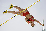 June 14 2009; Berlin Germany. Silke SPIEGELBURG (GER) competing in the pole vault at the DKB ISTAF 68 International Stadionfest Golden League Athletics competition.