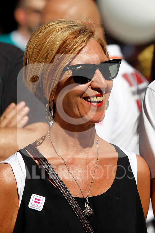 Rosa Diez at th Gay pride day.June, 30,2012.(ALTERPHOTOS/Alconada)