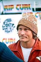 Simon Anderson (AUS), winner of the Rip Curl Pro at Bells Beach, Torquay, Victoria, Australia. circa 1981..Photo: Joliphotos.com