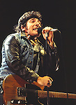 Bruce Springsteen 1984..© Chris Walter..