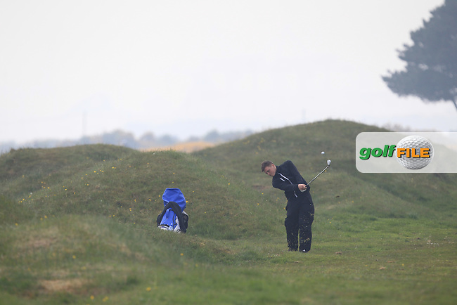 James Sugrue (Mallow) on the 3rd during Round 3 of the Flogas Irish Amateur Open Championship at Royal Dublin on Saturday 7th May 2016.<br /> Picture:  Thos Caffrey / www.golffile.ie