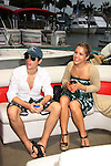One Life To Live Eddie and Kristen Alderson - Celebrities take a break and enjoy themselves on the pontoon boat - SWSL Soapfest Charity Weekend May 14 & 15, 2011 benefitting several children's charities including the Eimerman Center providing educational & outfeach services for children for autism. see www.autismspeaks.org. (Photo by Sue Coflin/Max Photos)