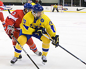 Adam Polasek (Czech Republic - 3), Jacob Josefson (Sweden - 26) - Sweden defeated the Czech Republic 4-2 at the Urban Plains Center in Fargo, North Dakota, on Saturday, April 18, 2009, in their final match of the 2009 World Under 18 Championship.