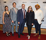 "Georgia Warner, Matthew Goodrich, Tony Carlin, Anne Lange and DeShawn Harold Mitchell attends the Broadway Opening Night After Party for ""All My Sons"" at The American Airlines Theatre on April 22, 2019  in New York City."
