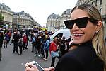 28/09/2017, Paris - Paris Fashion Week Women SS 2018 - Balmain. Helena Bordon arrives at the Balmain Fashion Show during the Paris Fashion Week in Paris, France on September the 28 of 2017.
