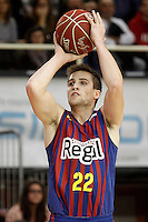 FC Barcelona Regal's Xabi Rabaseda during Liga Endesa ACB match.November 18,2012. (ALTERPHOTOS/Acero) /NortePhoto