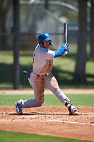 AZL Royals Gary Camarillo (16) at bat during an Arizona League game against the AZL Dodgers Lasorda on July 4, 2019 at Camelback Ranch in Glendale, Arizona. The AZL Royals defeated the AZL Dodgers Lasorda 4-1. (Zachary Lucy/Four Seam Images)