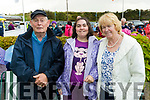 John, Deirdre and Margaret O'Leary, Ballyheigue at the Ballyheigue Pattern day mass on Friday.