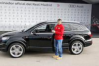 Iker Casillas participates and receives new Audi during the presentation of Real Madrid's new cars made by Audi in Madrid. December 01, 2014. (ALTERPHOTOS/Caro Marin) /Nortephoto