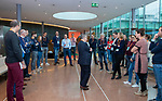 UTRECHT - Workshop Ten Have olv Ton Speet (Ten Have) Nationaal Hockey Congres van de KNHB, COPYRIGHT KOEN SUYK