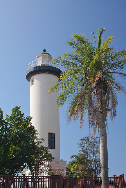 Lighthouse in Rincon, Puerto Rico