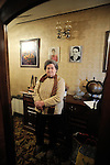 Salvadora Arranz, 87 years old, is pictured at her home of Irun on February, 19th, 2009 in the Basque Country. She has two sons, Antxon and Txomin Troitiño who are imprisoned in two Spanish prisons more than 800 km far from their home. Salvadora receives a weekly call timed 4 minutes and 58 seconds from each son. (Ander Gillenea / Bostok Photo)