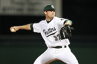 February 20, 2010:  Pitcher Jake Boyd (37) of the Stetson Hatters during the teams opening series at Melching Field at Conrad Park in DeLand, FL.  Photo By Mike Janes/Four Seam Images