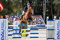 NZL-James Avery rides Mr Sneezy during the Show Jumping for the CCI5*-L. Les 5 Etoiles de Pau. Pyrenees Atlantiques. France. Sunday 27 October. Copyright Photo: Libby Law Photography