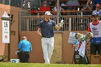 Martin Kaymer (GER) looks over his tee shot on 16 during day 2 of the Valero Texas Open, at the TPC San Antonio Oaks Course, San Antonio, Texas, USA. 4/5/2019.<br /> Picture: Golffile | Ken Murray<br /> <br /> <br /> All photo usage must carry mandatory copyright credit (&copy; Golffile | Ken Murray)