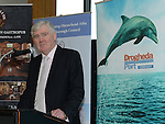 Denis Moynihan Director DPC speaking at the launch of the new Drogheda Marina. Photo:Colin Bell/pressphotos.ie